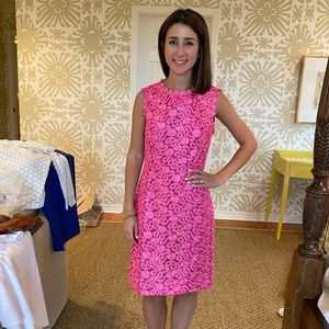 Pink Kate spade lace dress